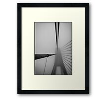 Lensbaby Does Anzac  Framed Print