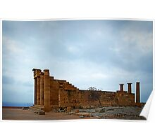 Temple of Athena Poster
