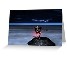 Ichy Knee Robot 2009 Greeting Card