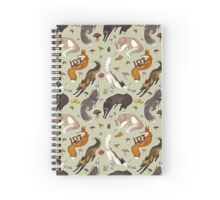 Foxes & Fungi Spiral Notebook