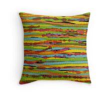 pattern - spaghettis 1 Throw Pillow