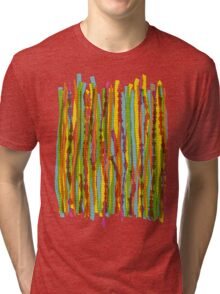 pattern - spaghettis 1 Tri-blend T-Shirt