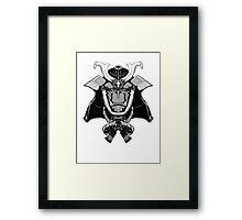 Gorilla Samurai Framed Print