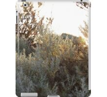 shingle, sand and mud are sorted by the sea and built into dune capped embankments iPad Case/Skin