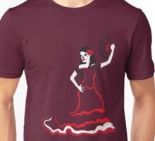 spanish sugar skull dancer Unisex T-Shirt