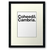 Helveticoheed Framed Print