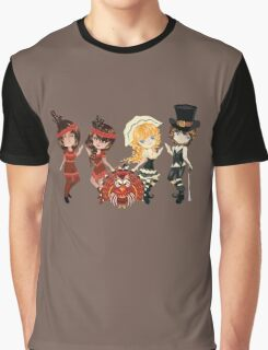 Piligrims and Indians Graphic T-Shirt
