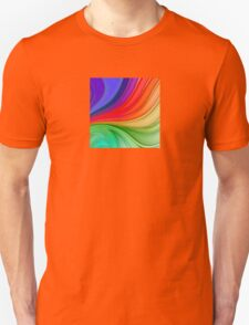 Abstract Rainbow Background Unisex T-Shirt