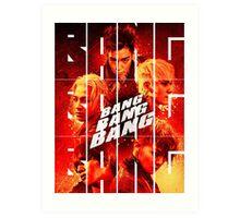 BIGBANG 'BANG BANG BANG' Typography 2 Art Print