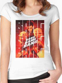 BIGBANG 'BANG BANG BANG' Typography 2 Women's Fitted Scoop T-Shirt