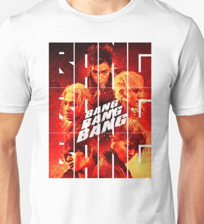 BIGBANG 'BANG BANG BANG' Typography 2 Unisex T-Shirt