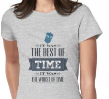 A Tale of One Doctor Womens Fitted T-Shirt