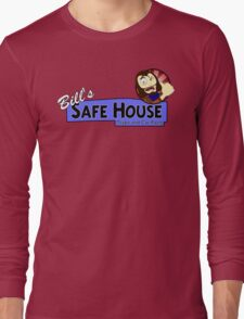 Bill's Safe House - THE LAST OF US Long Sleeve T-Shirt