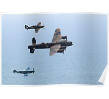 BBMF Fly By Poster