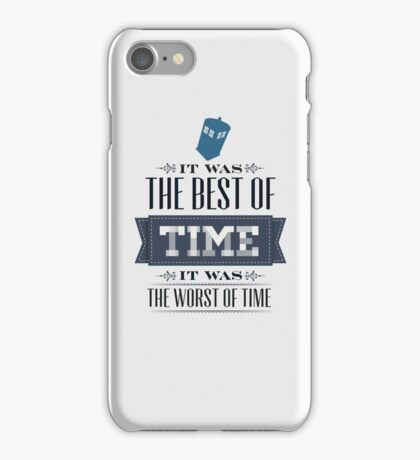 A Tale of One Doctor iPhone Case/Skin