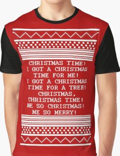 Britta Christmas sweater Quote Graphic T-Shirt