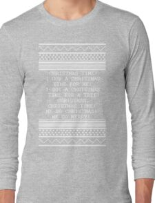 Britta Christmas sweater Quote Long Sleeve T-Shirt