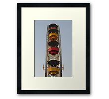 Santa Monica ferris wheel Framed Print
