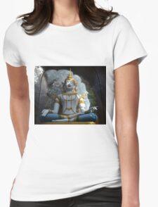 Buddha Womens Fitted T-Shirt