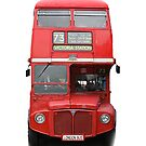 London Routemaster Bus by sandnotoil