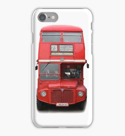 London Routemaster Bus iPhone Case/Skin