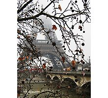 The Eiffel Tower in the Mist Photographic Print