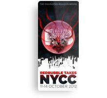 RB TAKES NYCC Metal Print