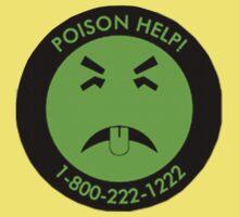 Retro Mr.Yuk poison Kids Clothes