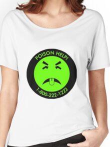 Retro Mr.Yuk poison Women's Relaxed Fit T-Shirt