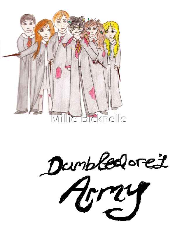Dumbledore's Army by LittleMizMagic