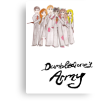 Dumbledore's Army Canvas Print