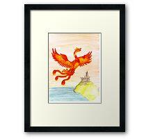 Fawkes The Phoenix Framed Print