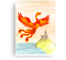 Fawkes The Phoenix Canvas Print