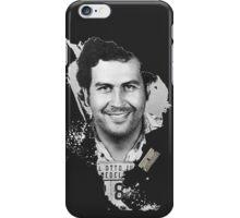 Pablo Escobar Mugshot Continent 2B   #232323 iPhone Case/Skin
