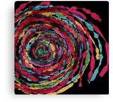 spaghettis spiral Canvas Print