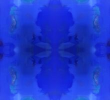 Blue Royale 5 by Stephanie Burns by Stephanie Burns