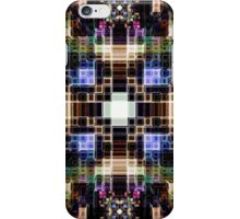 Glowing Geometric Cubes iPhone Case/Skin