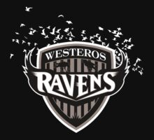 Westeros Ravens by Joe Dugan