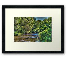 Bright Landscape Framed Print