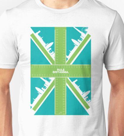 Rule Britannia.  Unisex T-Shirt