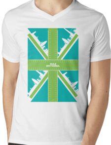 Rule Britannia.  Mens V-Neck T-Shirt
