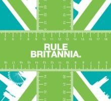 Rule Britannia.  Sticker