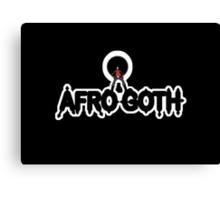 Afro Goth Canvas Print