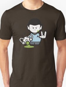 Star Trek's Mr Spock Cartoon T-Shirt