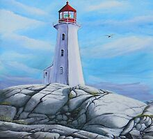 Peggy's Cove - Rocks of Ages by kevincameronart