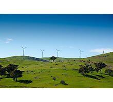 Wind Farm - Blayney  Photographic Print