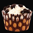 Chocolate Cupcake by Fern Blacker
