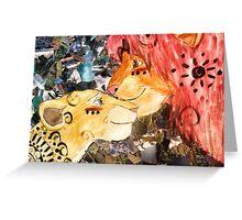 lion king collage Greeting Card