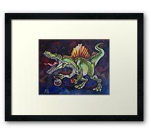 Caffeinosaurus Framed Print