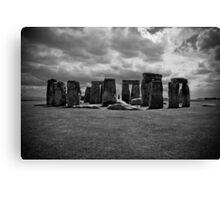 Stone Henge, England UK Canvas Print
